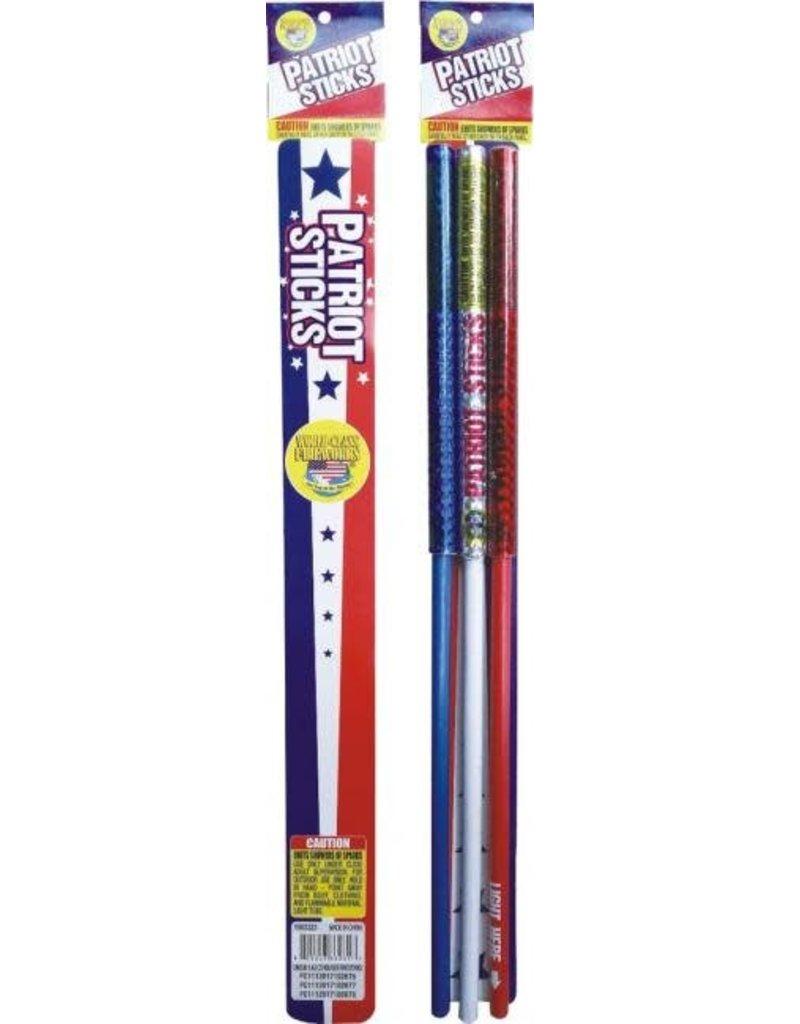 World Class Patriot Sticks - Case 72/3