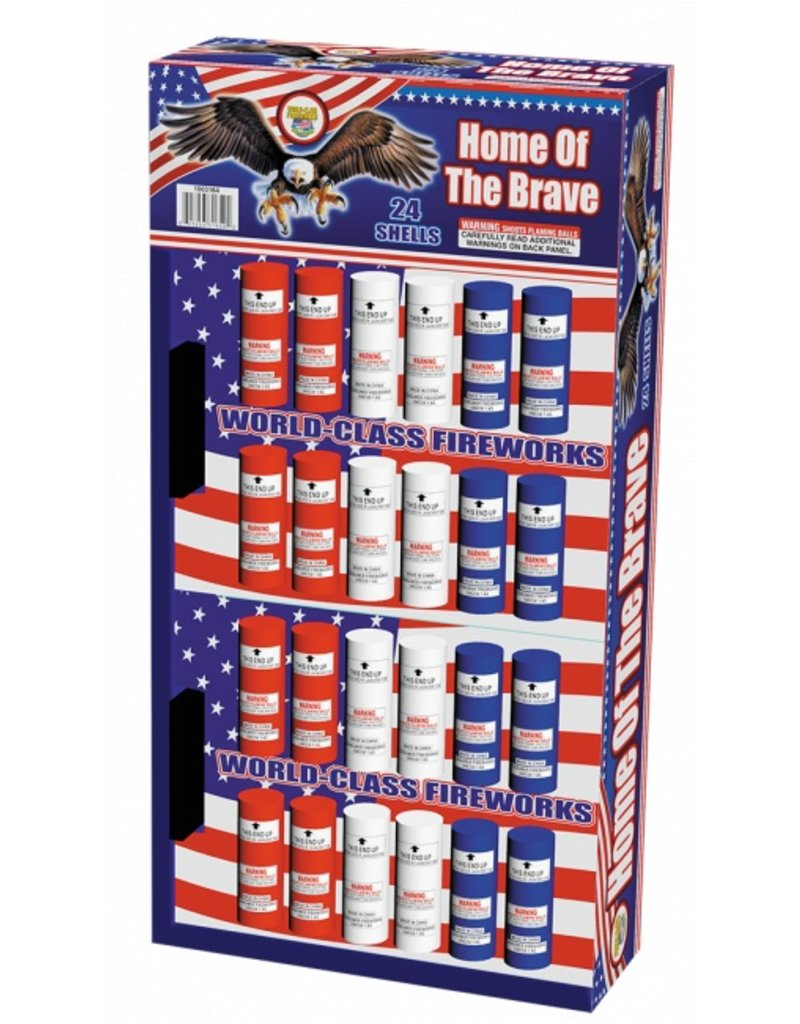 World Class Home of the Brave - Case 4/24