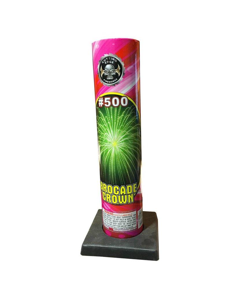 Cutting Edge Brocade Crown #500 Tube, CE