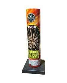 Titanium Gold Palm to Purple #500 Tube, CE