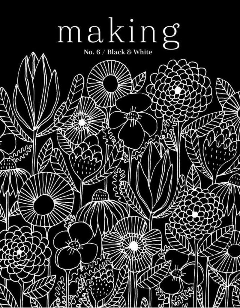 Madder Making No.6/ Black & White
