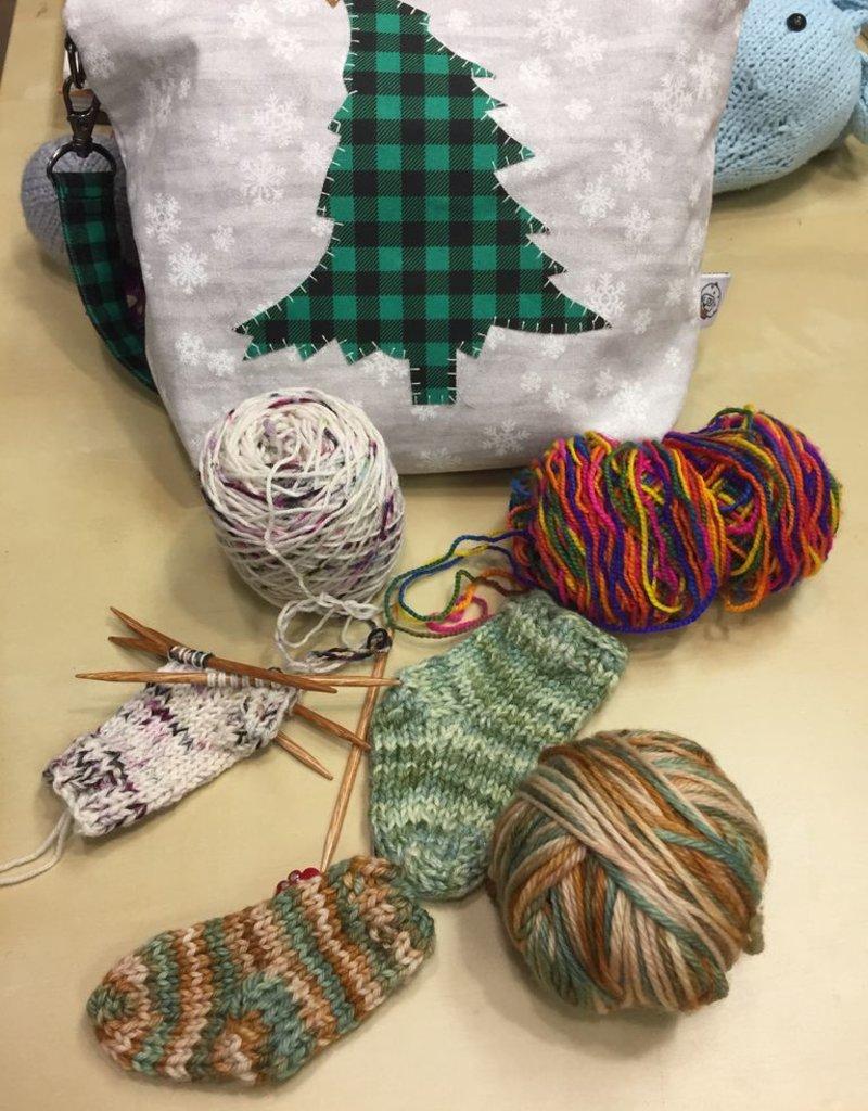 Stocking Christmas Ornament -Saturday, December 8th, 1-3pm
