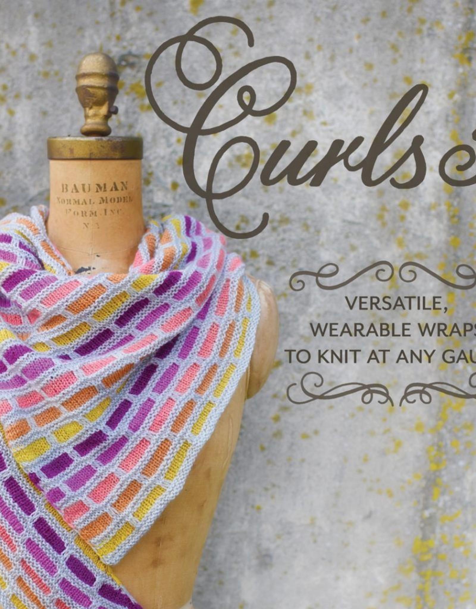 Pantsville Press Curls 3: Versatile, Wearable Wraps to Knit any Gauge
