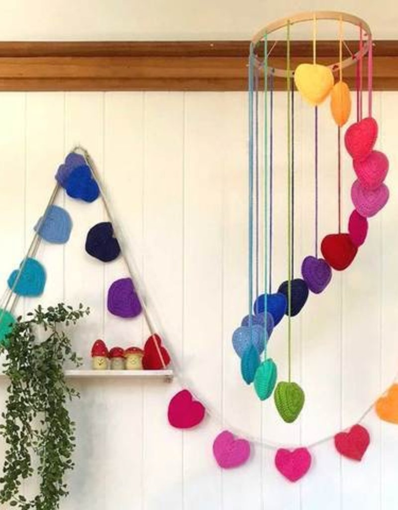 Crochet Heart Bunting<br /> Sunday, January 13th, 12-2pm