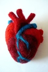 Needle-Felted Anatomical Heart<br /> Sunday, January 27th, 12-2pm