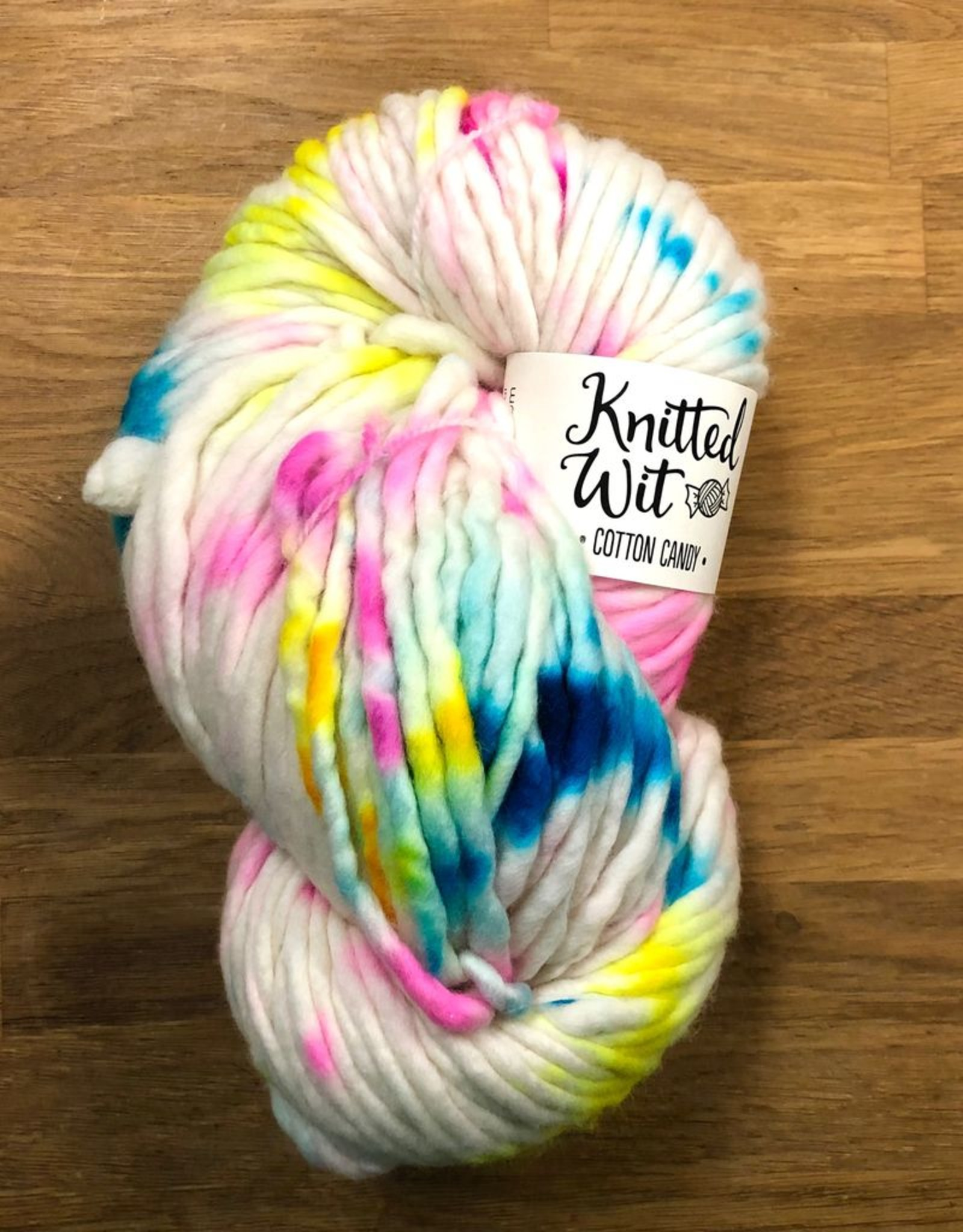 Knitted Wit Cotton Candy by Knitted Wit