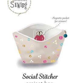 Sometimes Sewing Social Stitcher Project Bag — Sewing Pattern