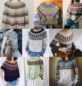 Boyland Knitworks SweaterTuesdays, February 26, March 5, 12, & 19th, 6-7:30pm