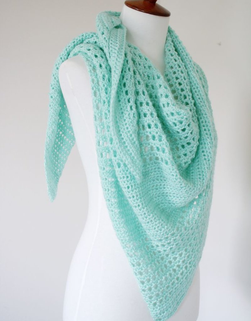 Adore Shawl, spring crochet wrapTuesdays,March 12 & 19th, 5-6:30pm
