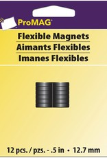 ProMag Flexible Round Magnets