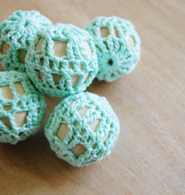 Crochet Wooden Beads 2 Ways<br /> Saturday, April 27th, 12-2pm