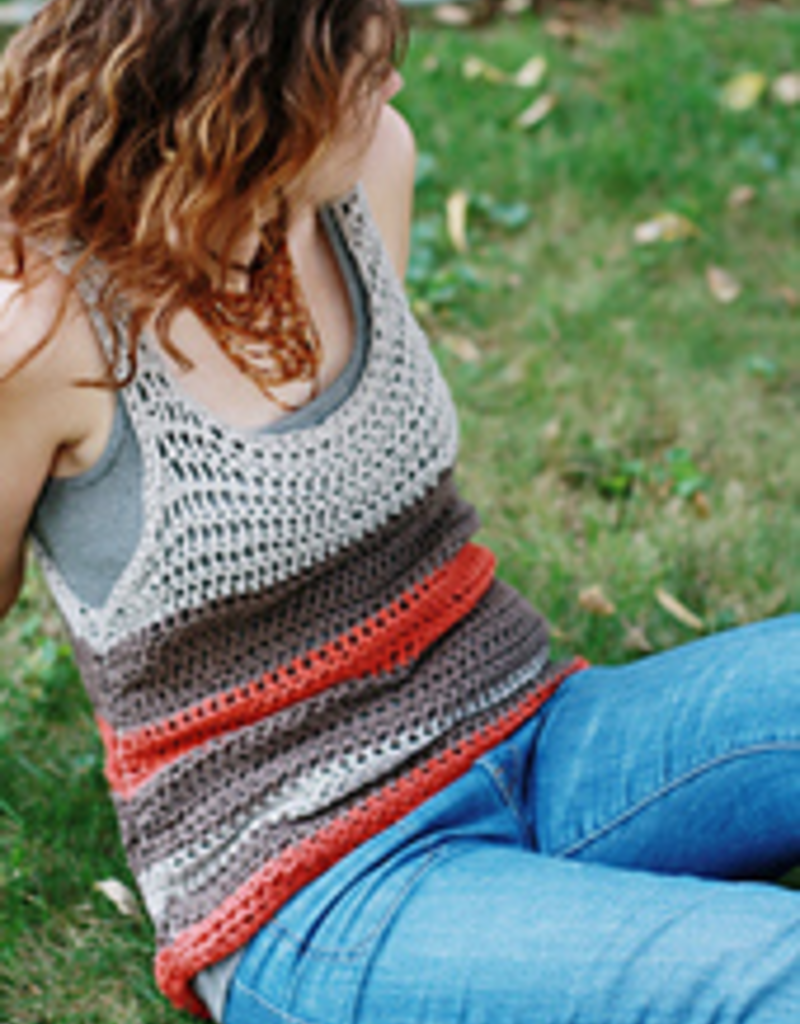 Striped Crochet TankSunday, May 19th, 12-2pm