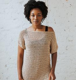 Summertime Tee, beginner-friendly mesh crochet topSaturdays, June 22 & 29th, 12-2pm