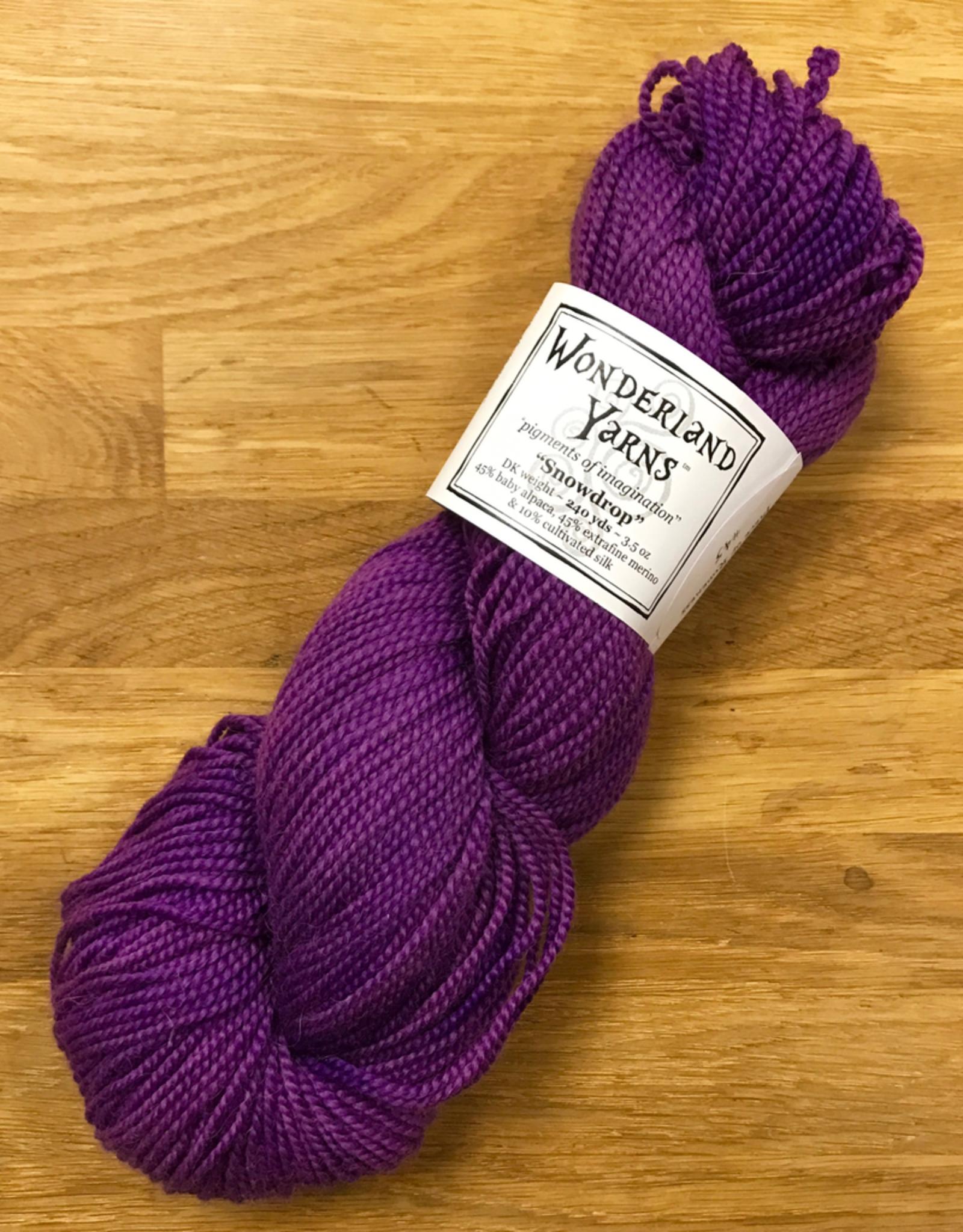 Wonderland Yarn Snowdrop by Wonderland Yarns