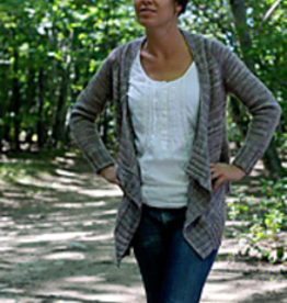 Effortless Cardigan<br /> Mondays, May 13, 20, &amp; 27th, 6-7:30pm