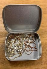Knitpicks Metal Stitch marker Variety and case