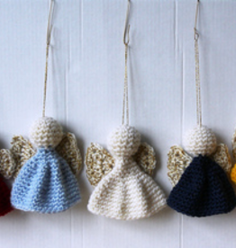 Christmas In July Crochet Angel OrnamentSaturday, July 20th, 2-4pm