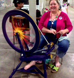 Interactive Spinning and Fiber Workshop DemoSunday, August 11th, 12-4pm
