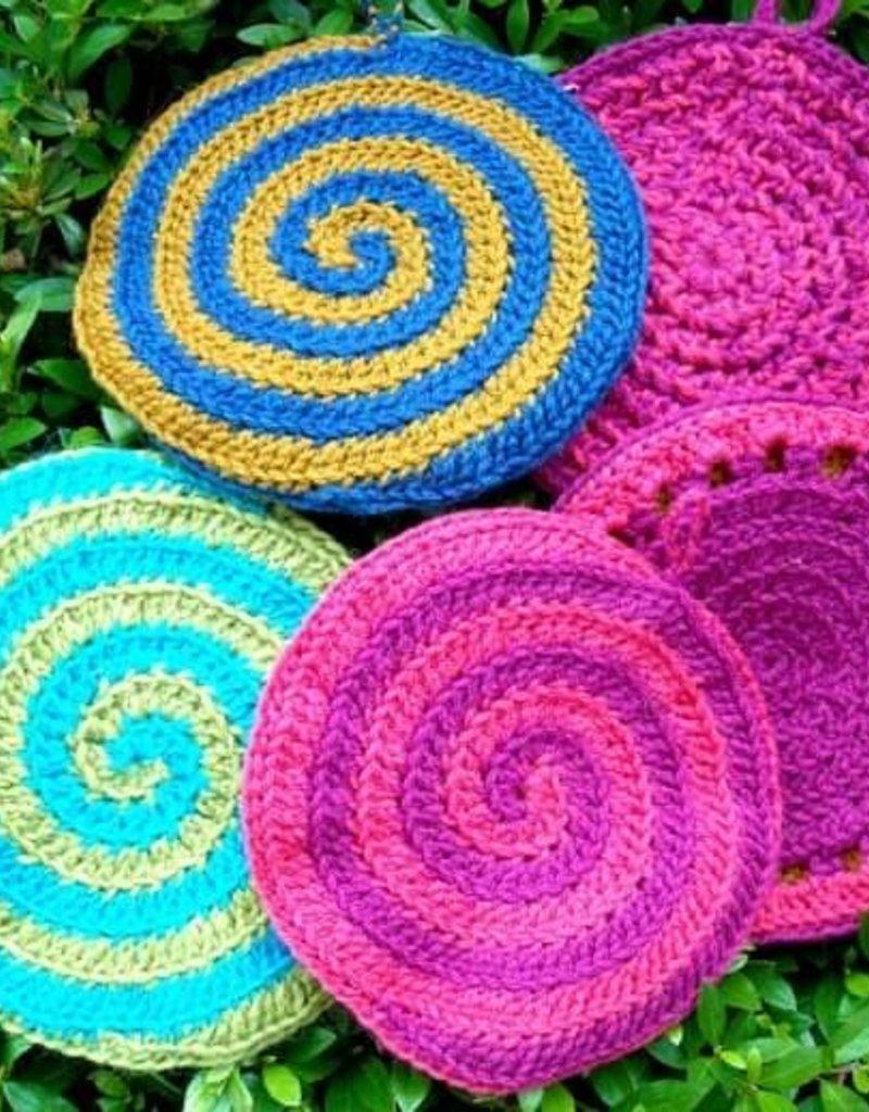 Crochet Spiral PotholderSunday, September 8th, 1-3pm