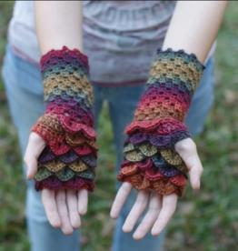Crocodile Stitch Fingerless Gloves Thursday, November 21st, 5-7pm
