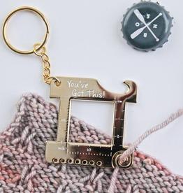 Twill & Print Twill & Print Multi Tool Keychain
