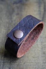 NNK press Leather Shawl Cuff