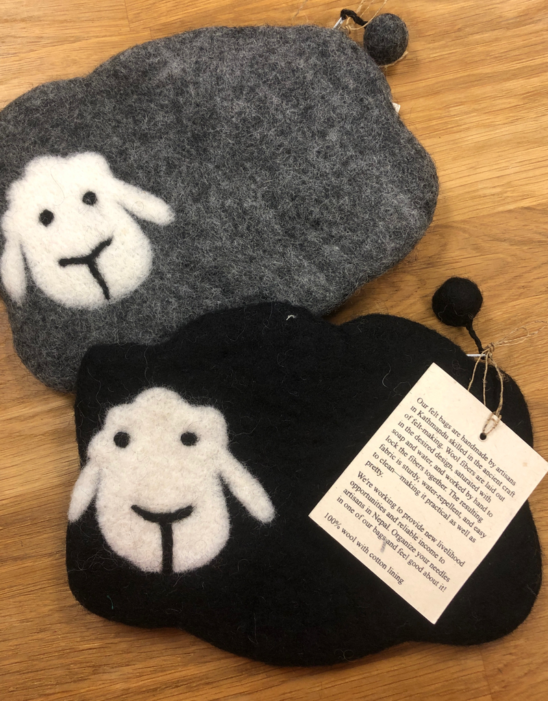 Frabjous Fibers Mama Sheep Notions Bag