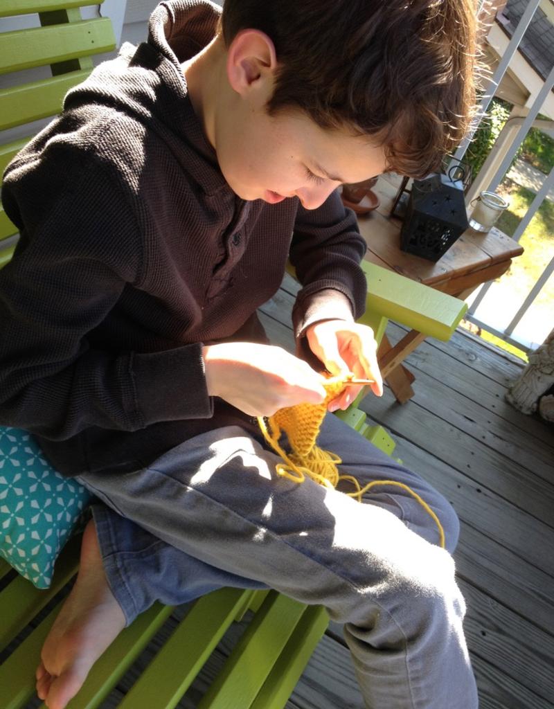 January Kids' Beginning Knitting Saturdays, January 25 & February 1, 10:30am-12pm
