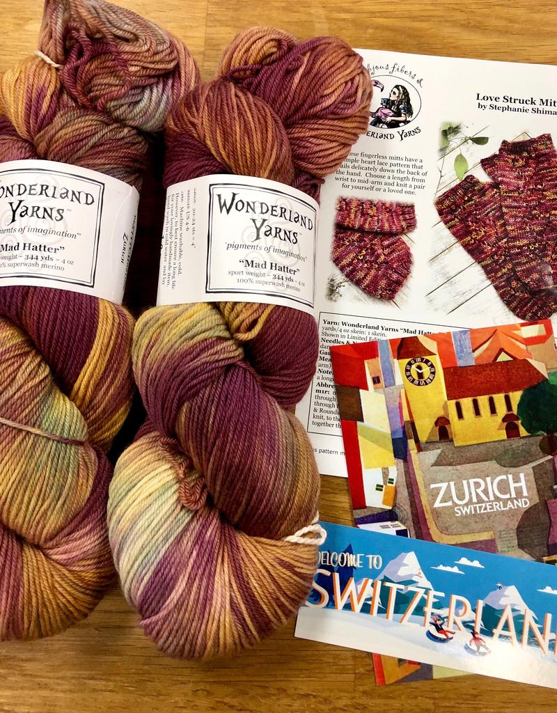 Wonderland Yarn Wonderland Color of the Month:  de-STITCH-nation