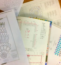 Skill Builder: Reading Crochet Charts Wednesday, February 26th, 5-7pm