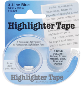 "Notions Marketing Highlighter Tape, 1/2"" x 393"""