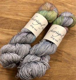 Consignment faeriegrl yarns - bling sock