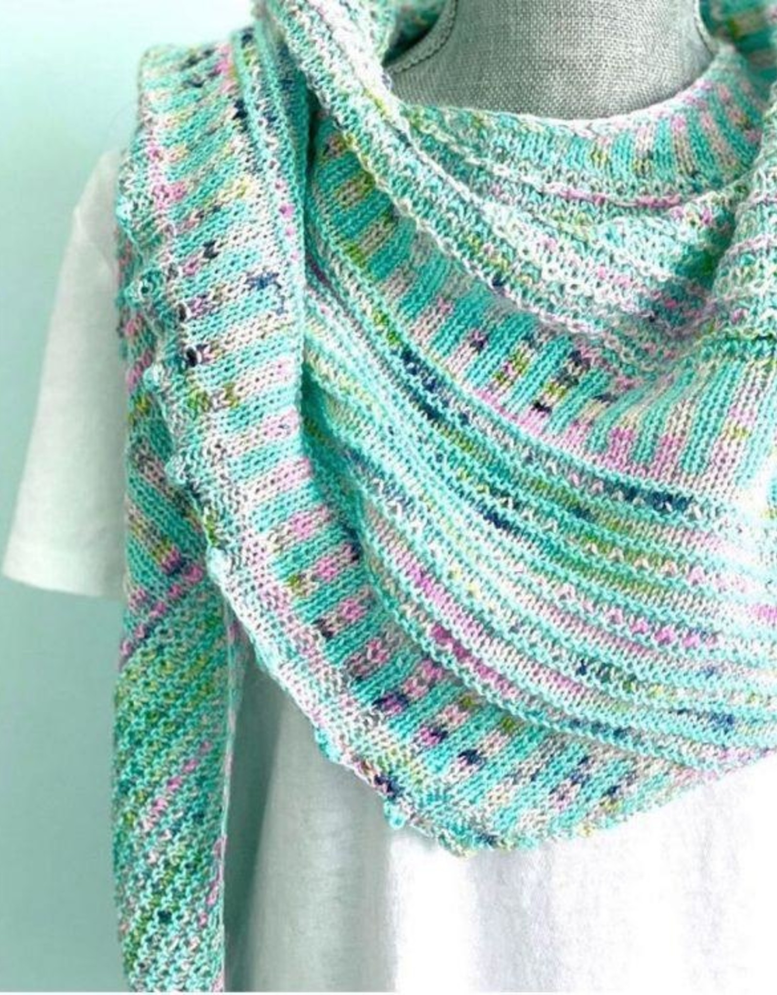 Yarn it & Haberdashery Mother's Day Bouquet - 2-skein set, 'Breathe and Hope' Shawl