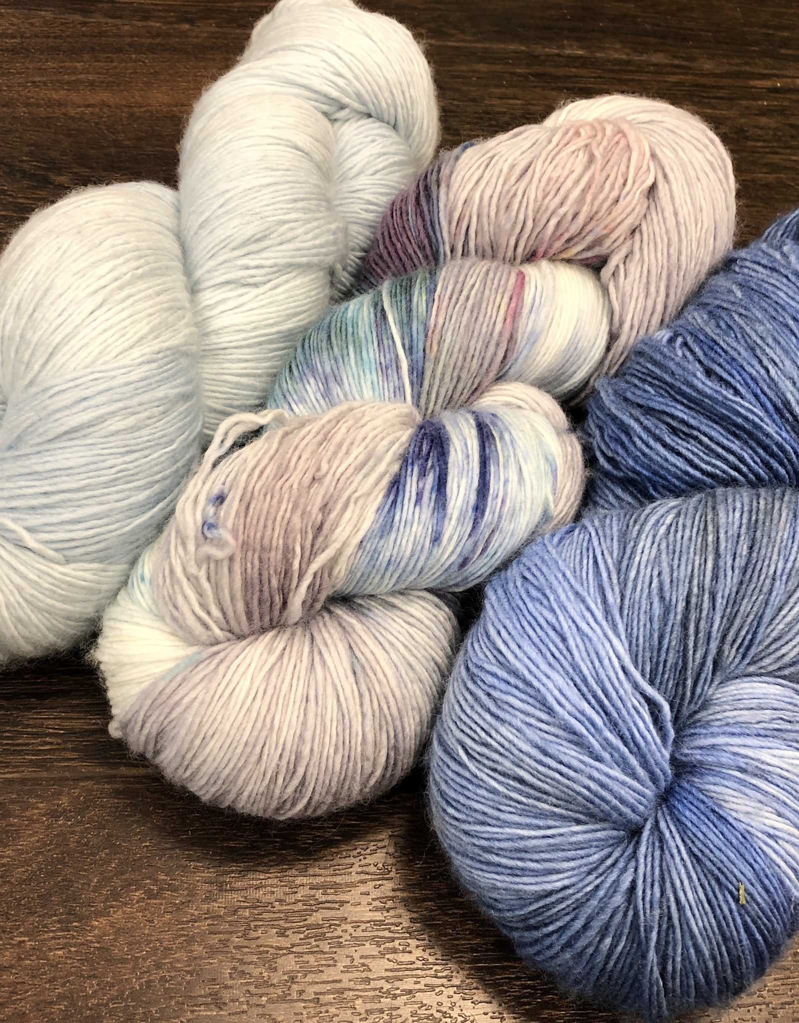 Yarn it & Haberdashery Mother's Day Bouquet - 3-skein set, 'In Honor of Her' Shawl