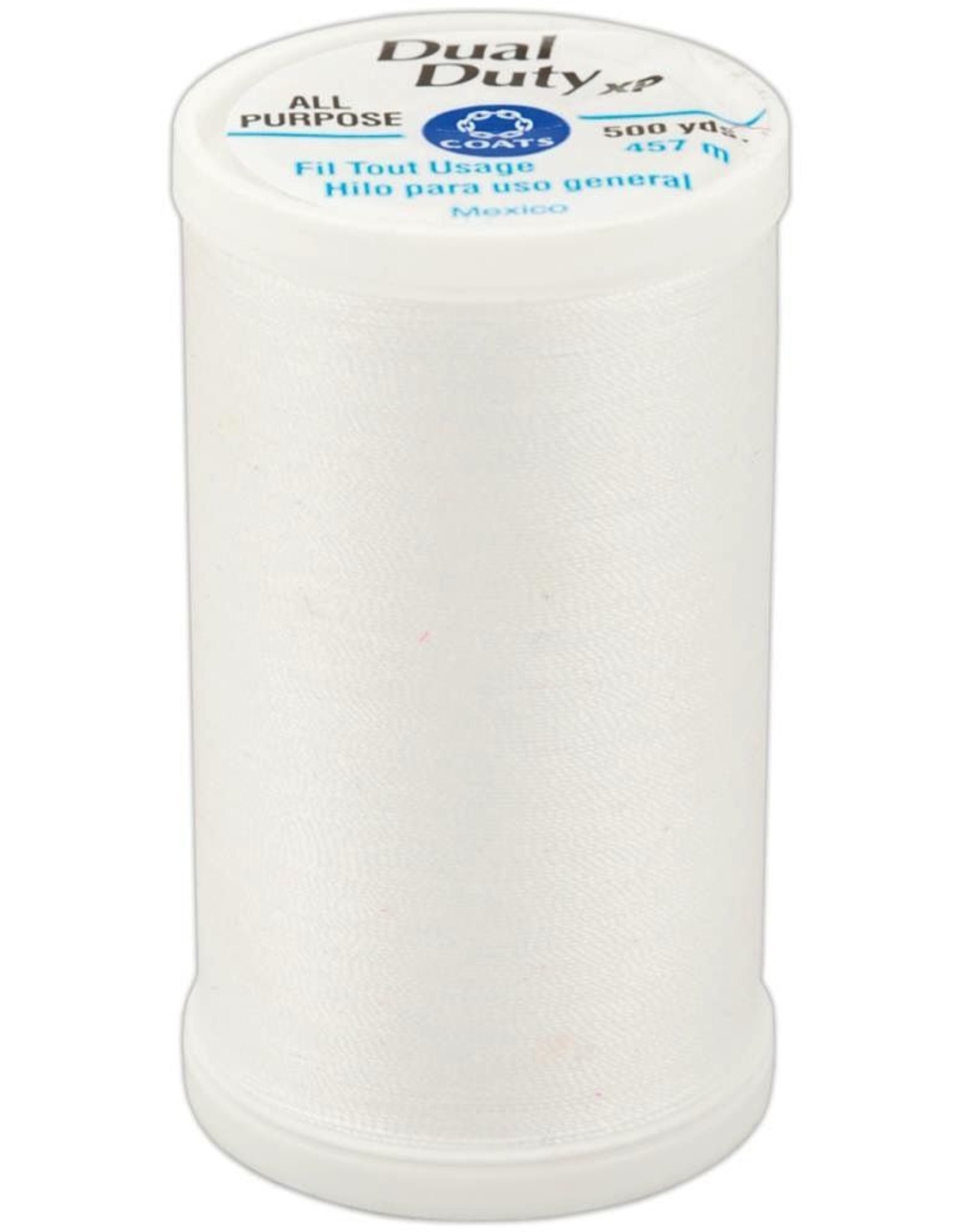 Dual Duty XP General Purpose Thread 500yd, White