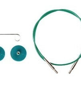 Knitpicks Green Single Pack IC Cable - 40inch