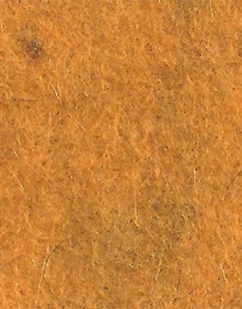 """Pollika Frescofelt Mustard 20x30cm (8""""x12"""") by De Witte Engel"""