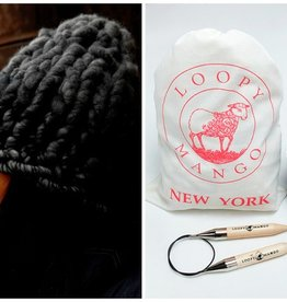 Loopy Mango DIY Kit - Helsinki Hat Oatmeal