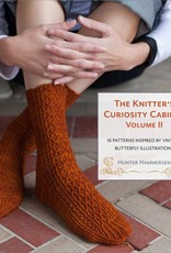 Pantsville Press The Knitter's Curiousity Cabinet, Volume 2: 18 Patterns Inspired by Vintage Butterfly Illustrations