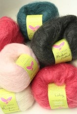 Medium Brushed Mohair, Ash Pink by Be Sweet