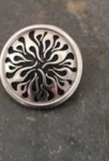 "Jul Designs Jul Flame Pedestal Button 1.5"""