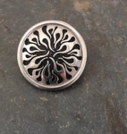 Jul Designs Jul Flame Pedestal Button 1.5""