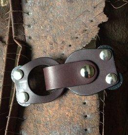 Jul Designs Jul Mod Loop Leather Closure - Truffle
