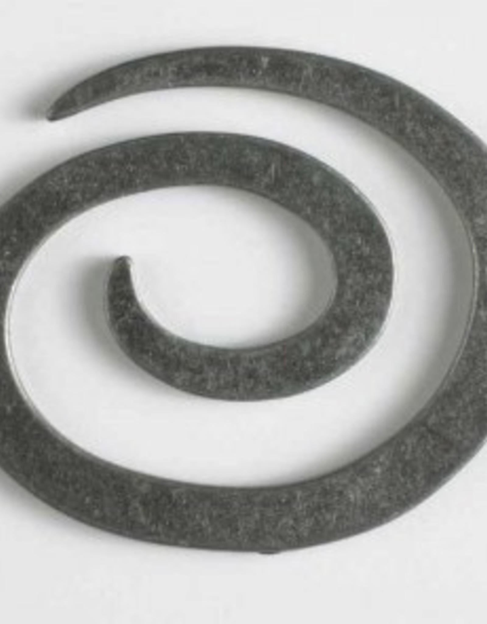 Dill 50 mm Metal Spiral shawl pin