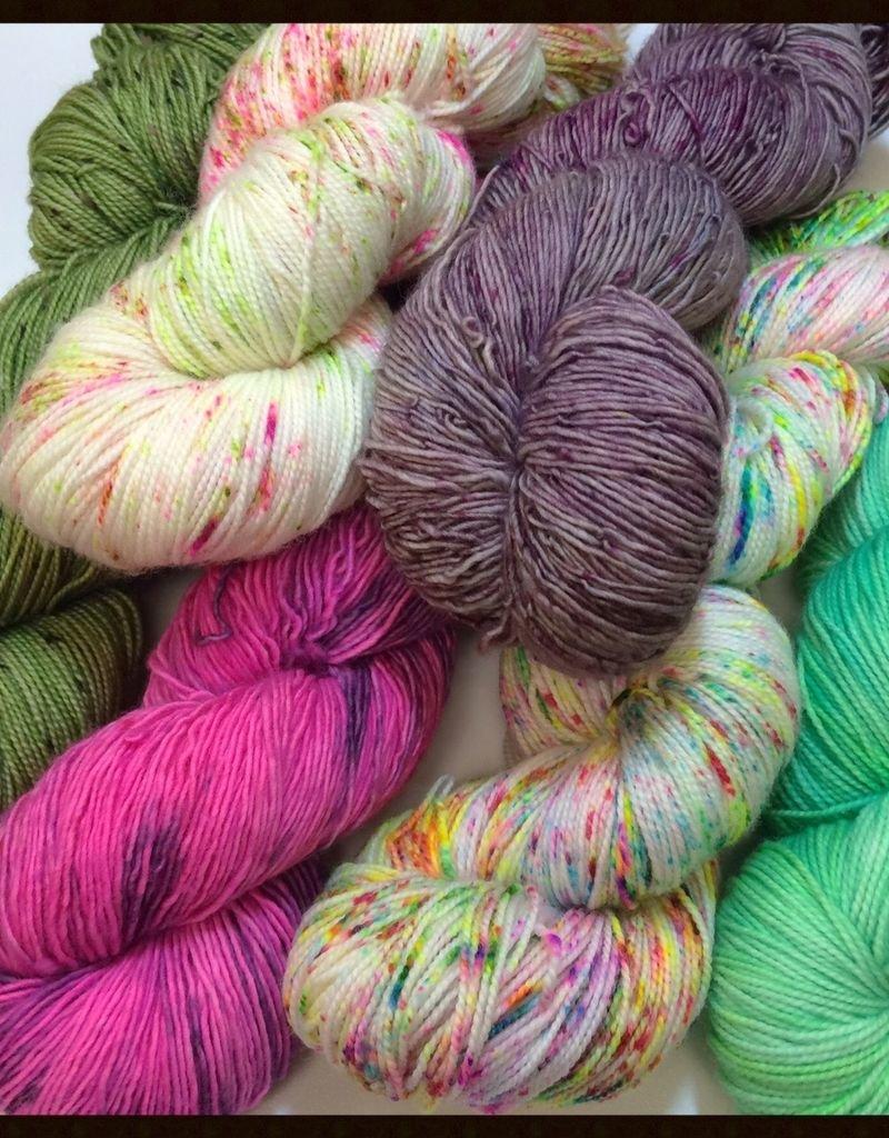 Consignment faeriegrl  yarns - Sock/Single
