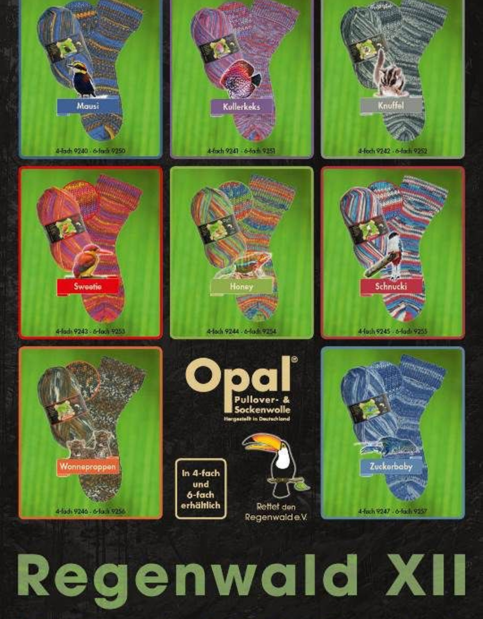 Opal Rainforest 12 by Opal