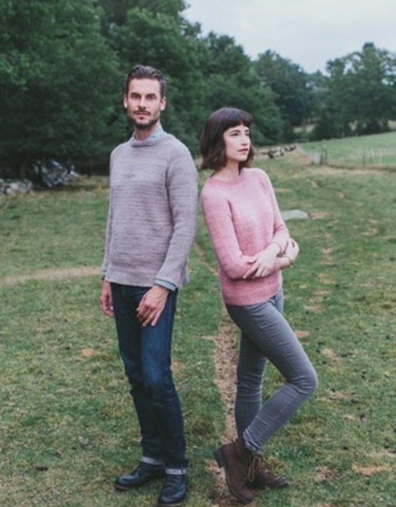 NNK press Wool Trip Crew Neck pattern by knitbot