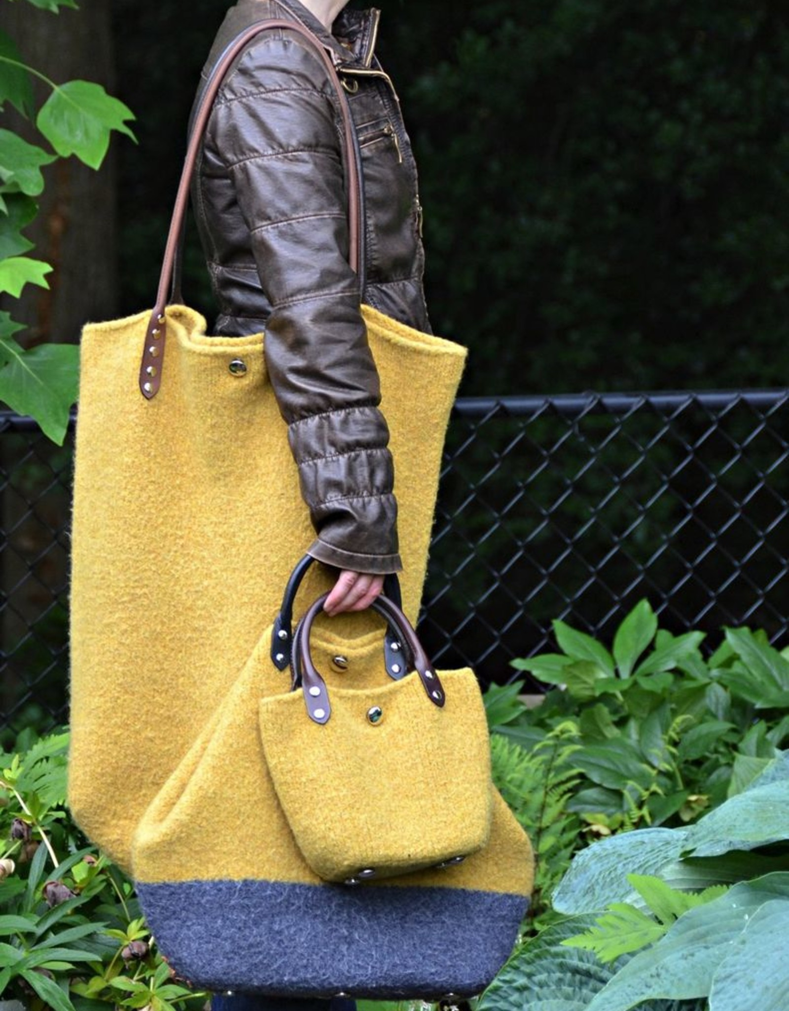 Jul Designs Forager Flat Leather Strap