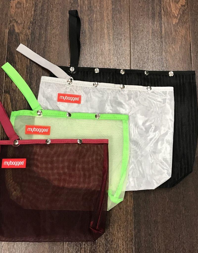mybaggee mybaggee mesh snap bag