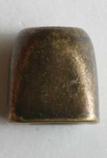 Dill Drawstring Cord Cap - Antique Tin, 12mm